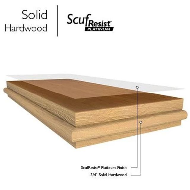 Hardwood Solid Construction