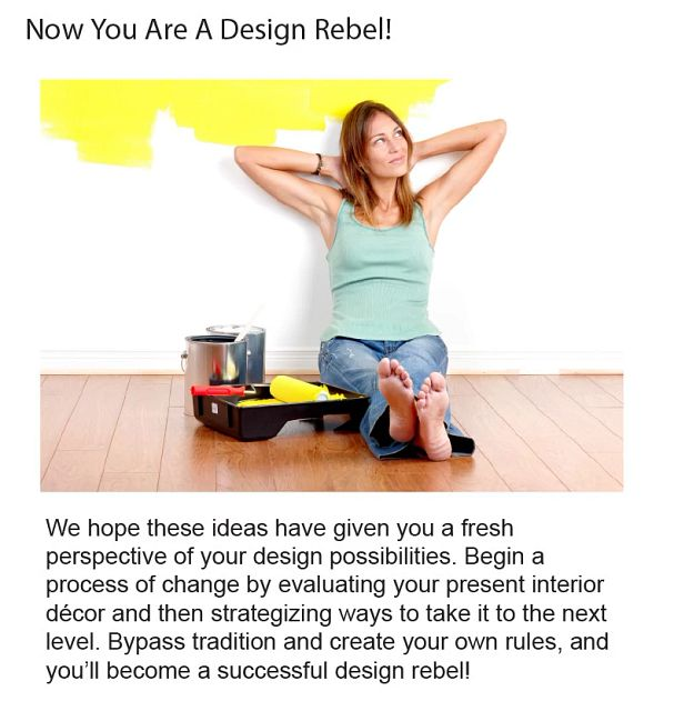 Now You Are A Design Rebel