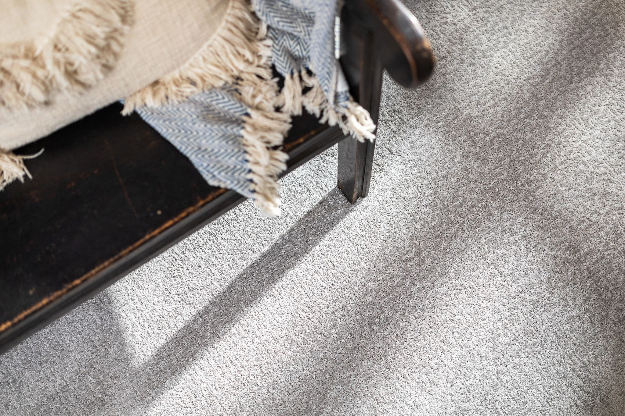 Image of Emergence high performance polyester carpet by Shaw Floors in color Sterling
