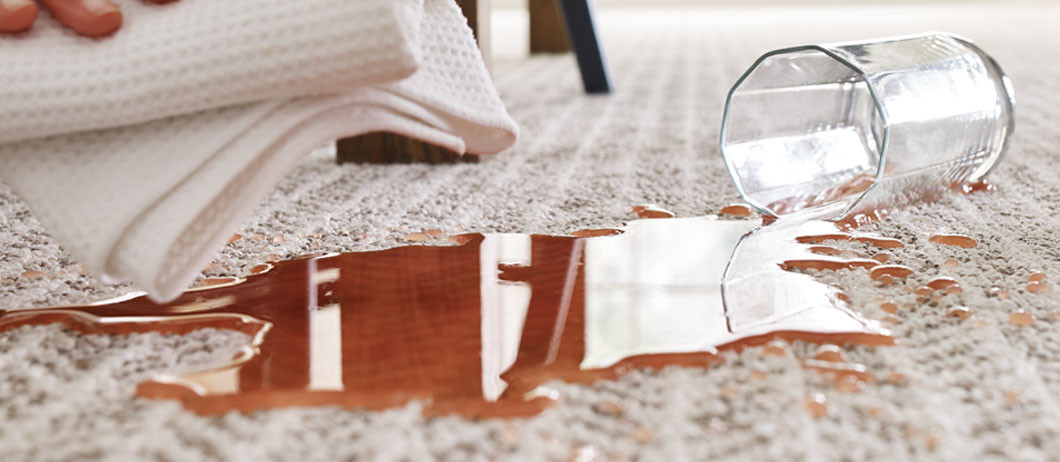 juice spill on Bellera carpet by Shaw Floors