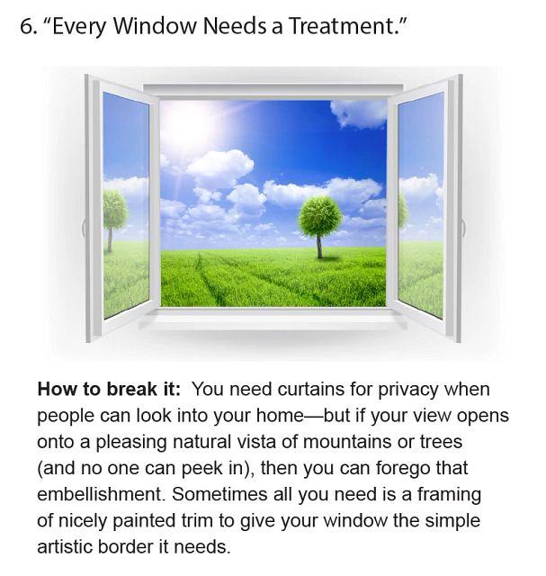 Every Window Needs A Treatment