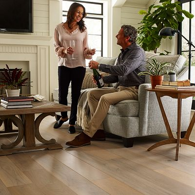 Hardwood Floorte, Exquisite Alabaster Walnut